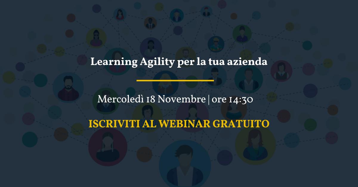 Learning Agility per la tua azienda (2)